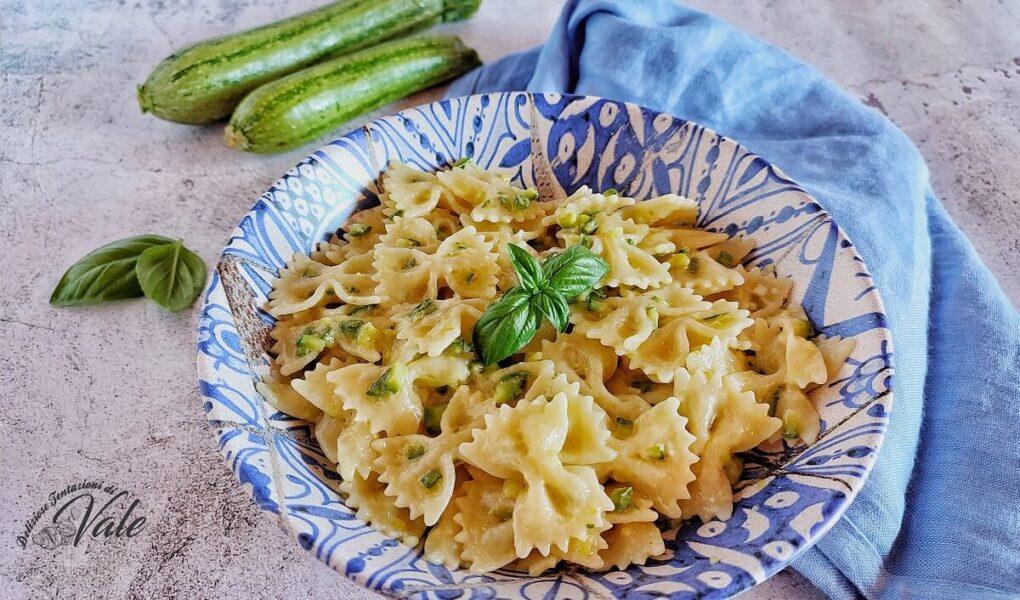Pasta con Zucchine e Feta