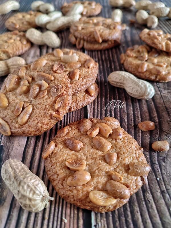 Cookies con arachidi