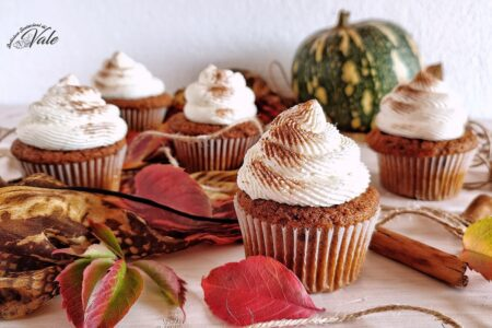 Cupcake Speziati alla Zucca