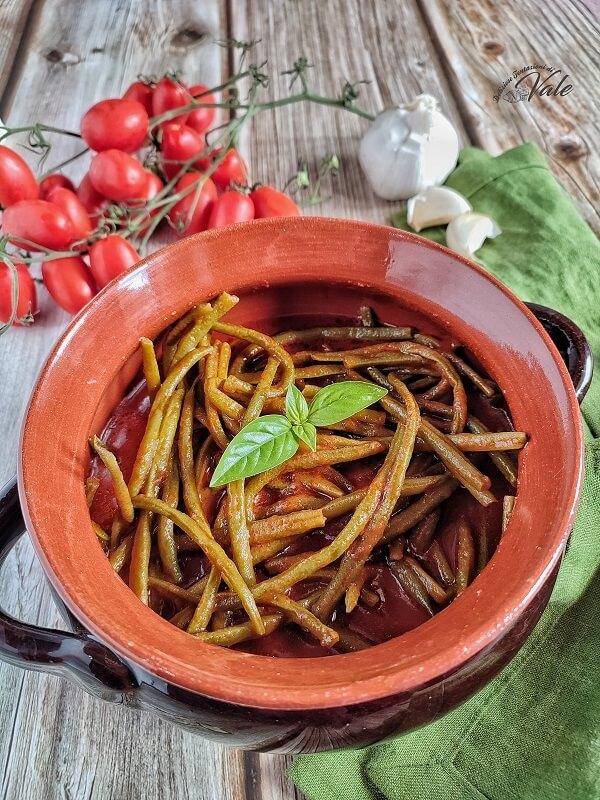 Fagiolini al Pomodoro (zuppa)