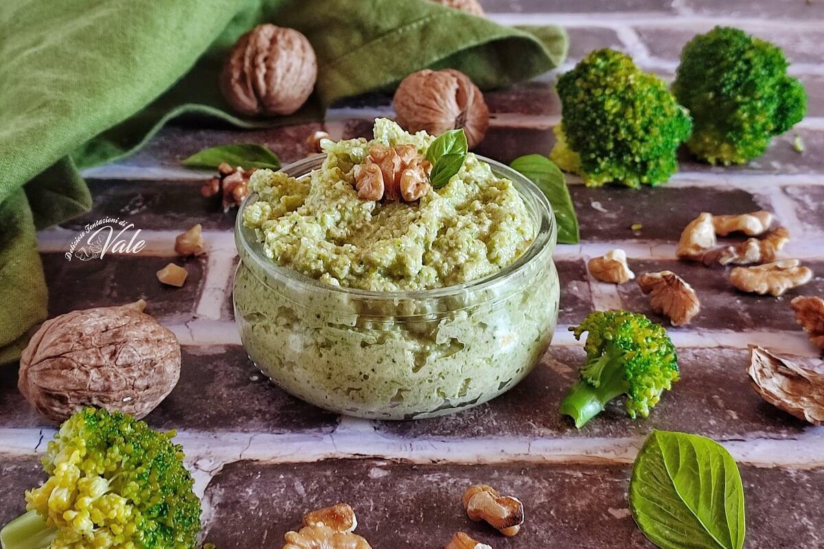 Pesto di Broccoli e Noci
