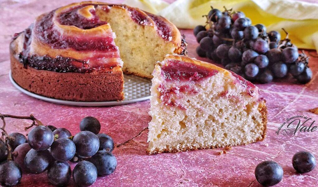Torta Vortice all'Uva Fragola