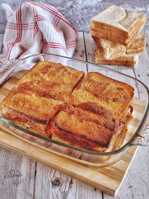 Torta di Pancarrè Salata