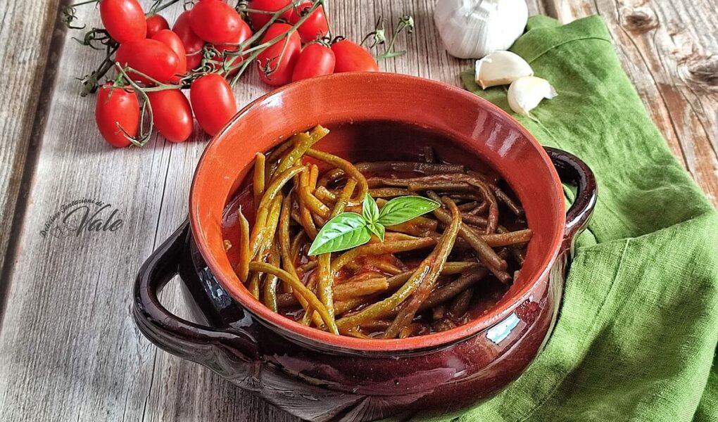 Zuppa di Fagiolini al Pomodoro